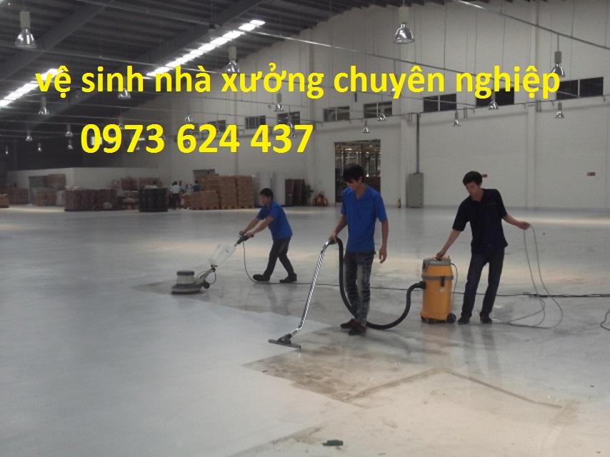DV vệ sinh nhà xưởng chuyên nghiệp tại Hải Dương