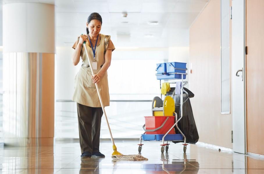 Dịch vụ cung cấp nhân viên vệ sinh định kỳ