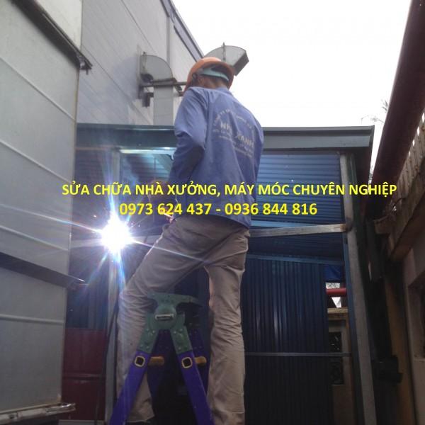 Dịch vụ sửa chữa nhà xưởng, văn phòng chuyên nghiệp